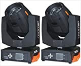 Roccer 2pcs Stage Lighting Moving Head Sharpy Beam 7R 230W DMX512