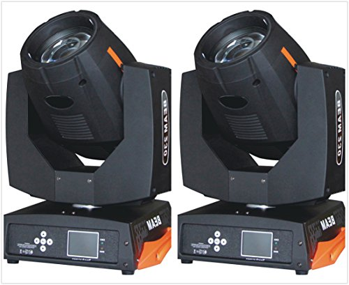 Roccer 2pcs Stage Lighting Moving Head Sharpy Beam 7R 230W DMX512 by ROCCER