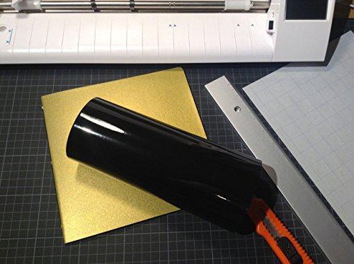 [해외]12 x 15 피트 비닐 접착 롤 - Cricut, Silhouette Cameo, Craft Cutters 및 StyleTech의 Vinyl Sign Cutters 용/12  by 15 ft Vinyl Adhesiv