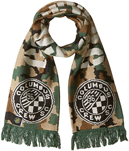 fan products of MLS Columbus Crew Adult Unisex Jacquard Scarf, One Size, Camo