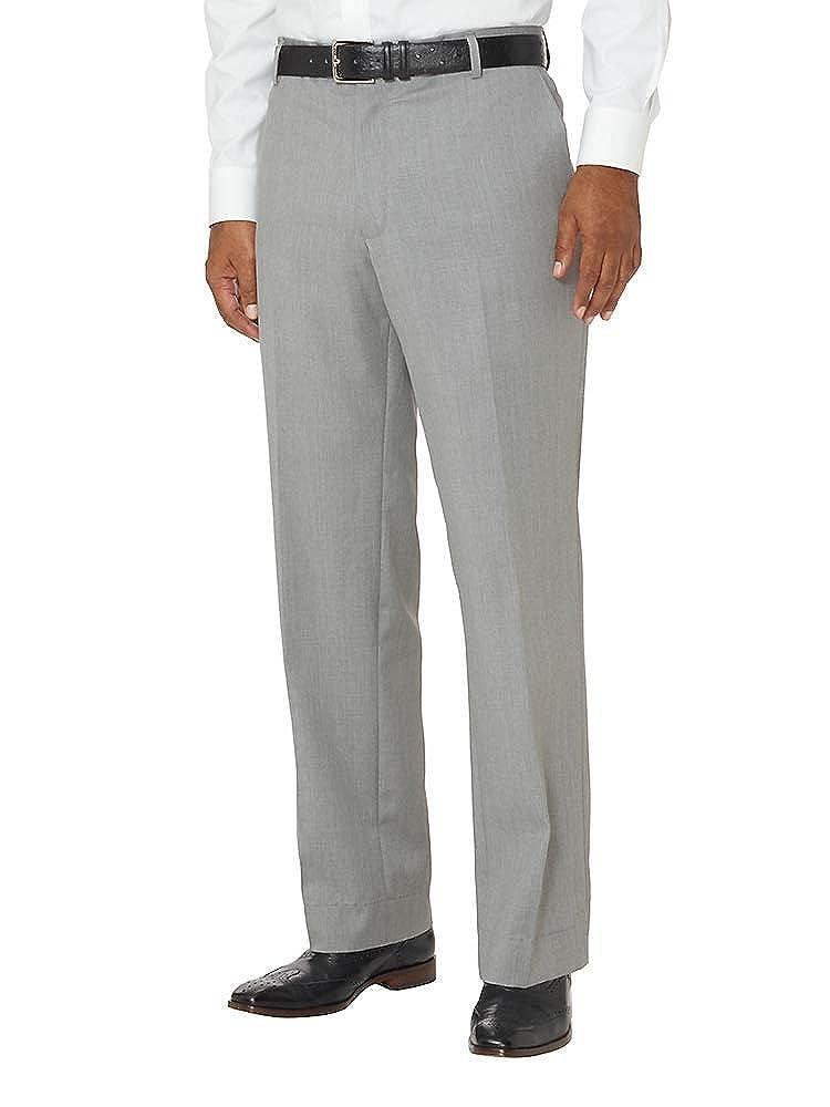Paul Fredrick Mens Slim Fit Wool Gabardine Flat Front Pant PA3010L000000