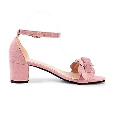 de Les l'été honestyi Womens Dame Sandales Femme Sandalettes a7n4nW