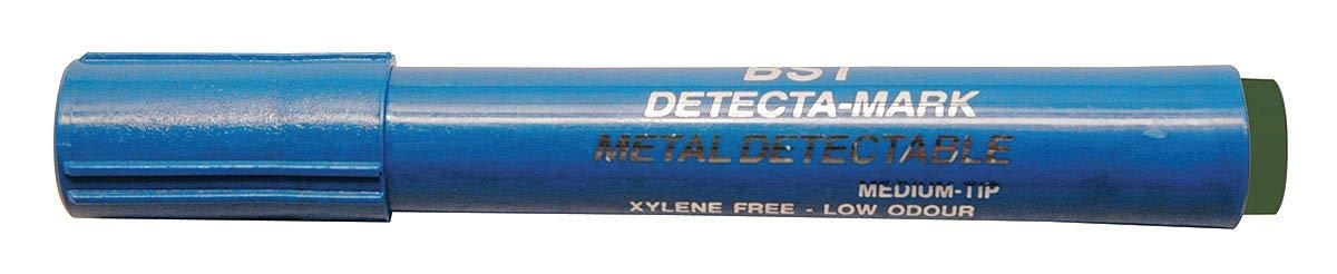 Detectapro Metal Detectable Dry Erase Marker with Green Ink PK10 - DEPENGR by Detectapro (Image #1)