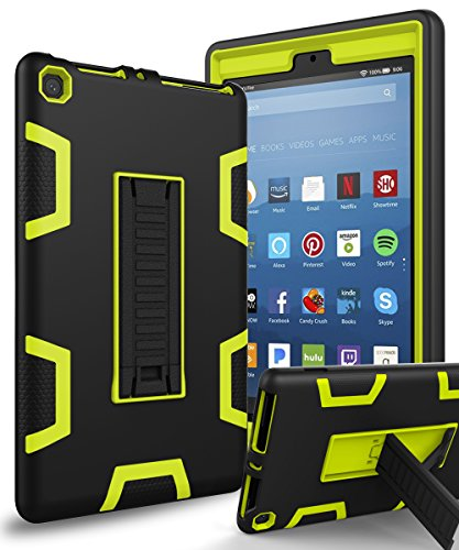 Tablet Case for Amazon 2015 kindle fire HD 8 (Black) - 4