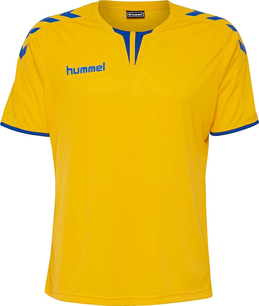 hummel - Maillot para Hombre Core Short Sleeve Poly Jersey: Amazon.es: Deportes y aire libre