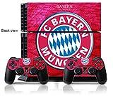 YISET Playstation 4 Console Skin & Remote Controllers Skin -FIFA Bayern Munich team