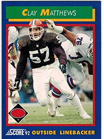 sale retailer f58bf b10a5 Amazon.com: 1992 Score Cleveland Browns Team Set with Eric ...