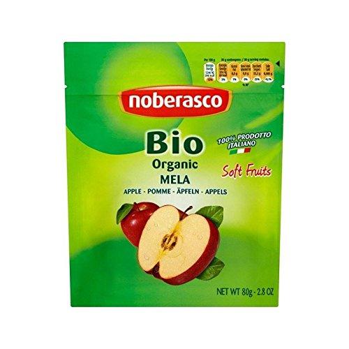 Noberasco Organic Italian Apples 80g - Pack of 6