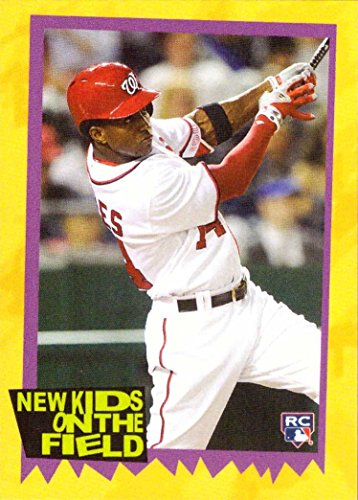 2018 Topps Throwback Thursday TBT Baseball #54 Victor Robles Rookie Card - Only 466 made!