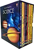 img - for Usborne Beginners Series Science Collection 10 Books Box Set (Earthquakes & Tsunamis, Sun Moon and Stars, Living in Space, Storms and Hurricanes, Volcanoes, Astronomy, The Solar System, Your Body, Pla book / textbook / text book