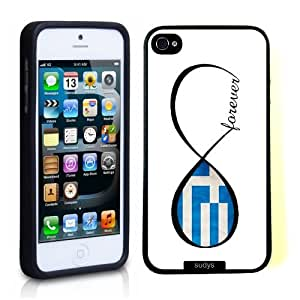 SudysAccessories Greek Forever Greece Flag Infinity Forever ThinShell Case Protective iPhone 5 Case iPhone 5S Case