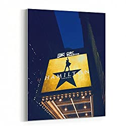Westlake Art - Hamilton Chicago - 16x20 Canvas Print Wall Art - Canvas Stretched Gallery Wrap Modern Picture Photography Artwork - Ready to Hang 16x20 Inch (047C-FB7C1)