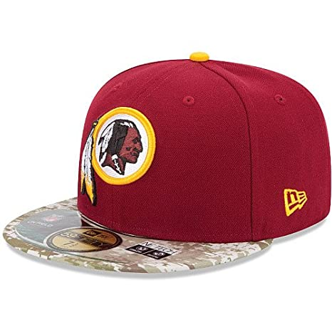 Amazon.com   Washington Redskins SALUTE TO SERVICE FITTED 59Fifty ... 145aee14410