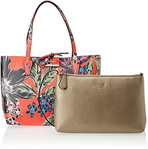 x Hwfl6422150 cm L GUESS mano 5x27x42 Rosso Bolsos 5 Olive Floral de Mujer 12 H W Red S6xx4q7d