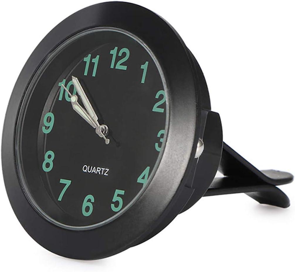 idain Car Dashboard Clock Mini Vehicle Clock Decoration