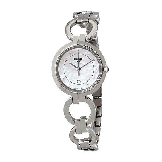 Tissot TISSOT FLAMINGO DIAMANT T094.210.11.116.00 Reloj de Pulsera para mujeres: Amazon.es: Relojes