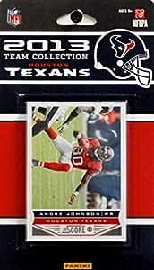 NFL Houston Texans Licensed 2013 Score Team Set