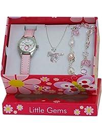 Little Gems Kids Horse Watch & Jewellery Gift Set For Girls R2213