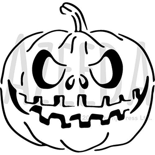 Azeeda A4 'Halloween Pumpkin' Wall Stencil / Template (WS00002341)