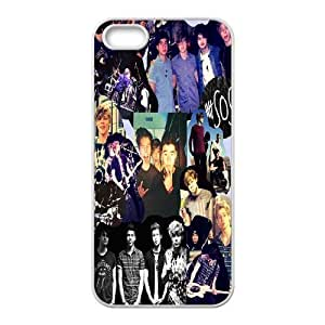 Custom High Quality WUCHAOGUI Phone case 5SOS music band Protective Case For Apple Iphone 5 5S Cases - Case-8