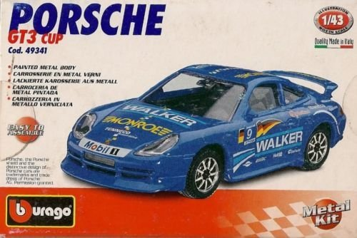 Burago 1/43 Porsche GT3 Cup Metal Kit / Made in Italy (Porsche Gt3 Cup)