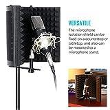 Konesky Microphone Isolation Shield, Studio Mic