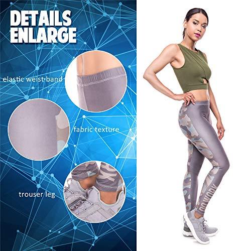 da di elasticità donna pantalone da donna stampato qualità di leggings yoga alta da con yoga Lybtrouser alta 5 Pantaloni ZIRxqYYw
