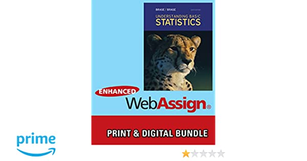 Amazon bundle understanding basic statistics 6th amazon bundle understanding basic statistics 6th webassign printed access card for brasebrases understanding basic statistics 6th edition fandeluxe Gallery