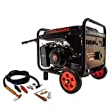 TWG210A EPA 15 HP Gas Powered Portable 2,000 Watt Generator with 210 Amp Welder with Kit