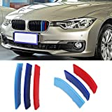 VANJING M-Colored Stripe Grille Insert Trims for BMW F30...