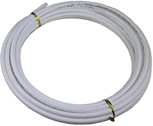 MATTOX Size 1/4 Inch,5 Meters 16 feet Length Tubing Hose Pipe for RO Water Filter System (white)