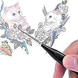 Detail Paint Brushes Set 10pcs Miniature Brushes