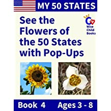 My 50 States - Book 4: See the Flowers of the 50 States with Pop-Ups