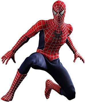 Amazon Com Spiderman 3 Hot Toys Movie Masterpiece 1 6 Scale Collectible Figure Spiderman Everything Else