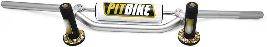JFG RACING Universal Motorcycle 7//822mm Mid manubrio Manubrio Cross Bar con impugnature per pad Set per Dirt Bike K.T.M EXC EXCF SX SXF SXS MXC MX XC XCW Titanio