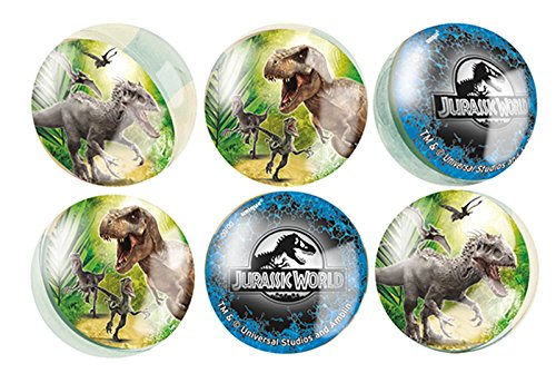 Ball Bag Costume (Jurassic World Bouncy Ball Party Favors, 6ct)
