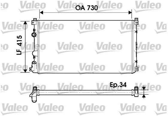 Radiator OSC 730