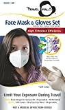 Face Mask & Gloves Set - Limit Your Exposure During Travel (3-pack)