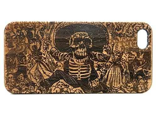 iMakeTheCase Sugar Skull iPhone Bamboo product image