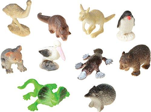 Assorted Mini Australian Animal Action Figures -