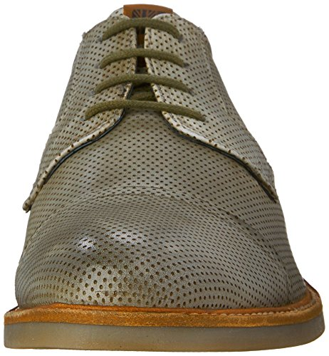 Ben Sherman Mens Luke Oxford Grijs