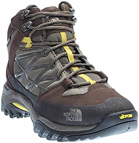 The North Face Storm Mid WP Boot Men's Weimaraner Brown/Antique Moss Green 7.5