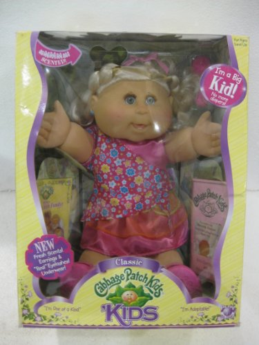 Cabbage Patch Kids Classic I'm One Of A Kind I'm Adoptable No More Diapers I'm A Big Kid Now From Playalongtoys 2006]()