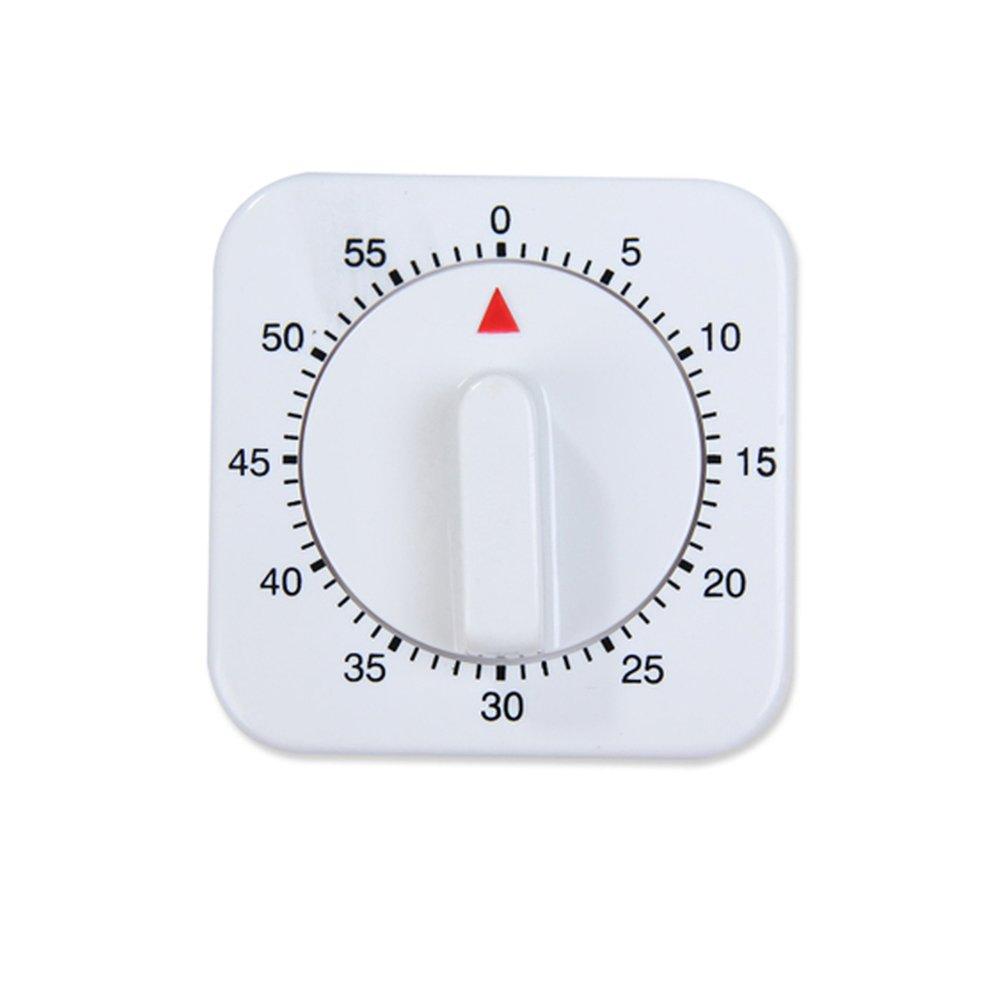 Rocita minuterie 60 Minute Calendrier avec 80 DB Alarme minuteur magn/étique /à p/âtisseries Maison Cuisine Manuel minuteur 1 pi/èce
