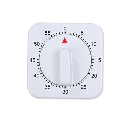 temporizador de cocci/ón magn/ético Temporizador de cocina mec/ánico alarma sonido temporizador de cuenta atr/ás de 60 minutos
