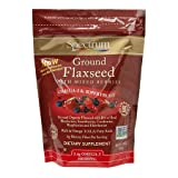 Spectrum Ground Flaxseed with Mixed Berries 2.4 g (Pack of 3)