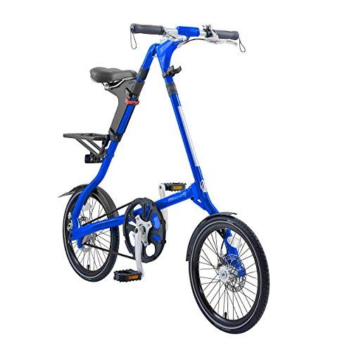 Strida EVO folding bicycle, internal 3 speed hub, folds to 45x20x9', Neon Green