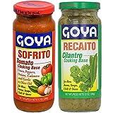 Goya Recaito & Goya Sofrito Cooking Base 2 - 12 Oz