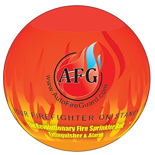 (Automatic Fire Extinguisher Ball Stand Sign)