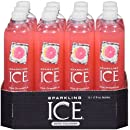 Sparkling Ice Pink Grapefruit 17 Ounce Bottles (Pack of 12)